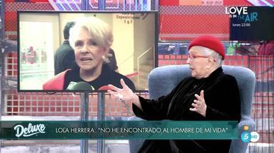 Lola Herrera hablando en Sábado Deluxe