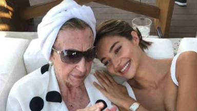 Las palabras de Rocío Crusset a su abuela tras no haberse podido darle el último adiós