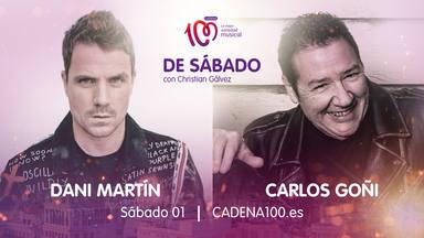 Dani Martín y Carlos Goñi son los invitados de lujo en 'De Sábado con Christian Gálvez'