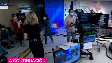 Susanna Griso abandona sin previo aviso 'Espejo Público' en pleno directo para acudir a un centro médico