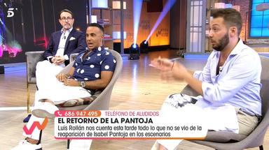 José Antonio Avilés, muy acalorado hablado de la relación de Luis Rollán con Isabel Pantoja