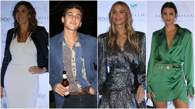 Los 'celebrities' en el evento de 'Los Jazmines de Cándido'