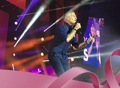 Actuación de Sergio Dalma en CADENA 100 Por Ellas 2018