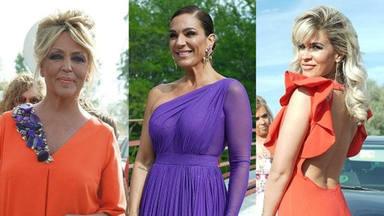 Los mejores looks de los invitados a la boda de Belén Esteban