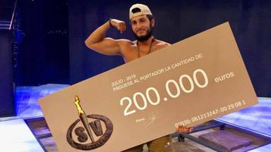 Omar Montes ha ganado el premio de 200 mil euros de Supervivientes 2019