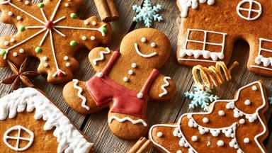 La receta casera para hacer las galletas de jengibre más bonitas por Navidad