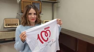 ¿Quieres ganar la camiseta de CADENA 100 firmada por Elena Ballesteros?