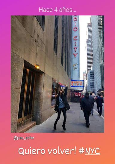 Paula Echevarría en Nueva York