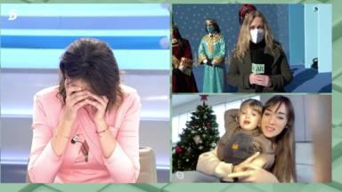 El momentazo en directo que nos ha ofrecido Patricia Pardo rompiendo a llorar con un regalo inesperado