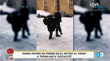 María Patiño se defiende de las crítcas por ir en metro