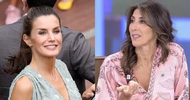 """Paz Padilla saca a la luz una sorprendente conversación privada con la Reina Letizia: """"Me lo dijo de corazón"""""""