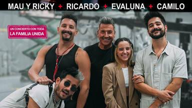 La familia Montaner realizará su primer concierto conjunto: Ricardo, Mau Y Ricky, Evaluna y Camilo