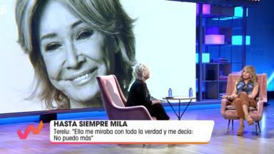El bonito gesto de Alba Santana con Terelu Campos en las horas previas al fallecimiento de Mila Ximénez