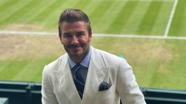 La lección magistral de David Beckham a sus hijos tras hacerse un cambio de 'look': él lo hizo primero