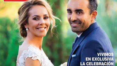 David Flores, el hijo de Rocío Carrasco, reaccionó de manera inesperada al ver la foto de boda de su madre