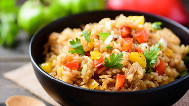 El peligro del arroz poco cocido