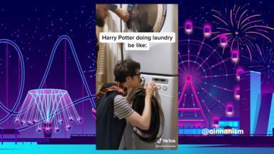 La lavadora viral que interpreta la banda sonora de Harry Potter