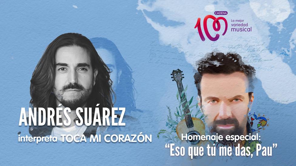 Andrés Suárez interpreta 'Toca mi canción' en el especial 'Eso que tú me das, Pau' - Música