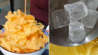 De patatas fritas a crujientes ''patatas chips'' caseras