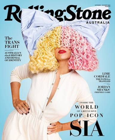 Sia rolling stone mag