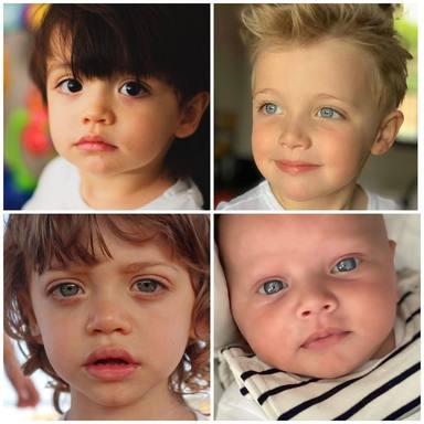 Pilar Rubio presume de sus cuatro hijos en Instagram
