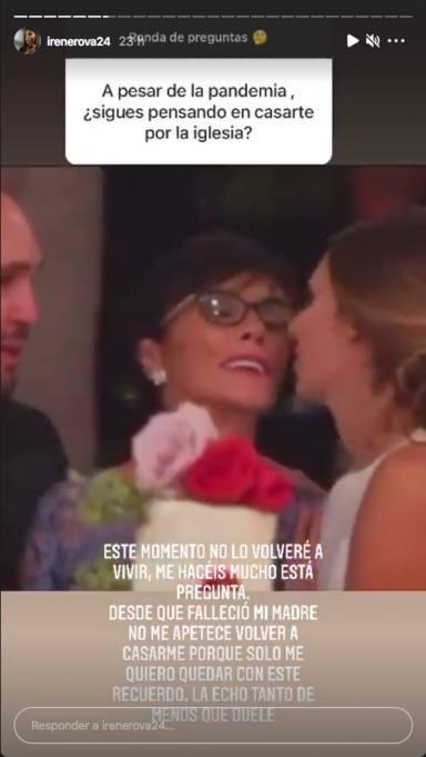 Irene Rosales recuerda a su madre en Instagram