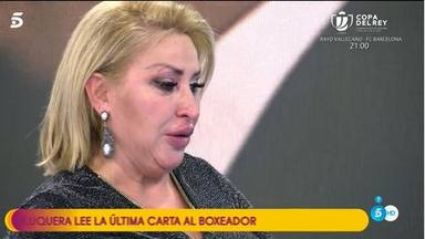 Lágrimas Raquel Mosquera 20 aniversario muerte Pedro Carrasco