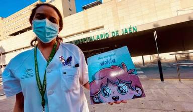 """""""Una mariposa violeta"""": el cuento escrito por una enfermera para concienciar sobre el Lupus Infantil"""