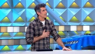 """Jorge Fernández, muy emocionado, detiene 'La ruleta' para homenajear a Pau Donés: """"Seguro que le gusta"""""""
