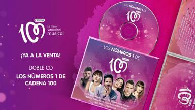 Hazte con el nuevo doble CD de 'Los Números 1 de CADENA 100'