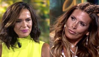 Olga Moreno, obligada a pedir disculpas a Lara Sajen tras unas desafortunadas palabras en 'Supervivientes'