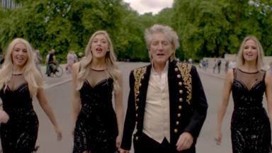 Rod Stewart estrena canción y videoclip, 'One More Time', para anunciar su nuevo álbum que llegará en breve