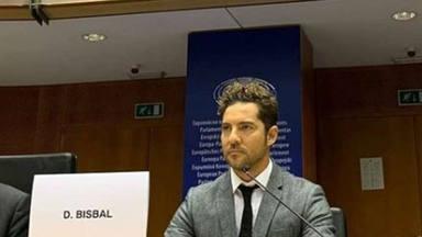 La noble causa por la que David Bisbal ha llegado hasta el Parlamento Europeo