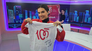 ¿Quieres ganar esta camiseta de CADENA 100 firmada por Marta Sango?