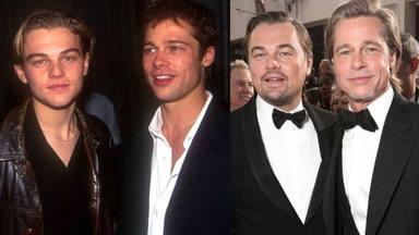 Leonardo DiCaprio y Brad Pitt. Fuente: Redes sociales.