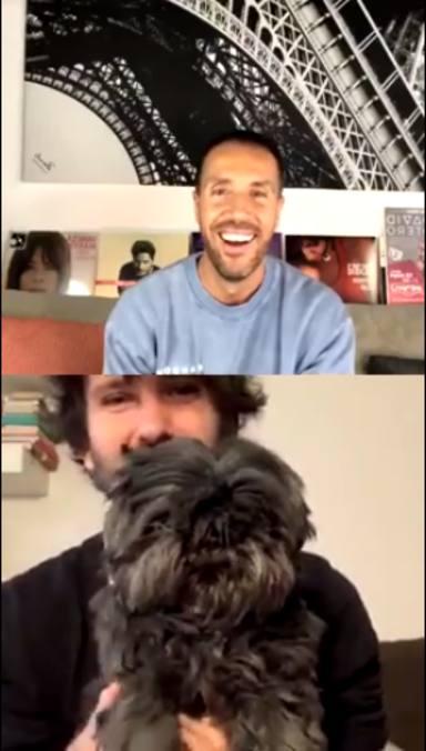 David Otero nos muestra a su perro en En Vivo en Casa con Antonio Hueso