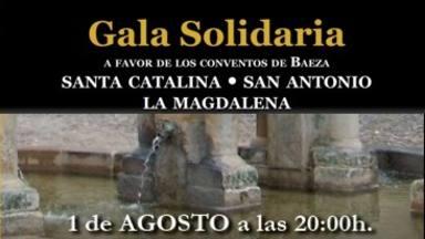 Gala solidaria a beneficio de los Conventos de Baeza