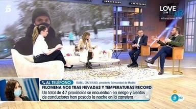 Emma García sin colaboradores en Viva la vida por la nieve