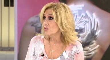 """Rosa Benito, totalmente descolocada, desmiente a Rocío Carrasco en Telecinco: """"Como una película de terror"""""""