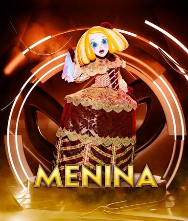 Menina, una de las máscaras de Mask Singer 2