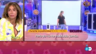 Sale a la luz una conversación inédita entre Rocío Carrasco y María Patiño en Sálvame: ¿En serio, María?