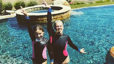"""Las olimpiadas caseras de Pink junto a su hija: """"Incluso preparé sushi"""""""