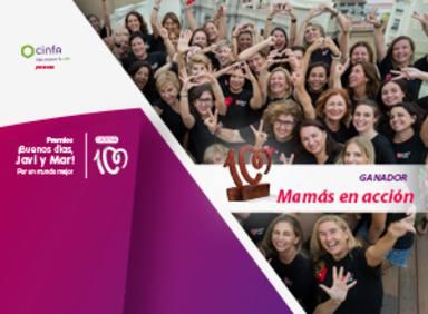 Mamás en acción, premio ¡Buenos días, Javi y Mar! Por un mundo mejor