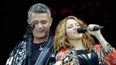 Shakira con Alejandro Sanz