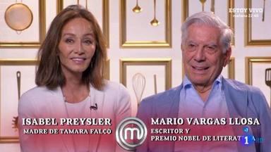 Isabel Preysler y Vargas Llosa se convierten en historia de la televisión y en los grandes protagonistas de la