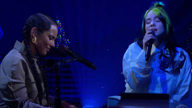 "Alicia Keys a dúo con Billie Eilish en ""Ocean Eyes"""