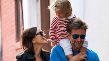 Irina Shayk y Bradley Cooper comieron juntos con su hija el pasado martes
