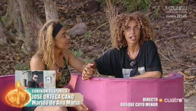 Yiya transmite a Ana María Aldón los mensajes de Ortega Cano