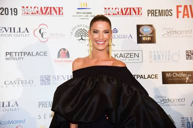 Laura Sanchez at the Magazines Awards ceremony in Seville on Wednesday, 6 November, 2019