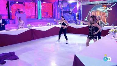 Anabel Pantoja vuelve a la televisión poniendo a bailar a todos los colaboradores